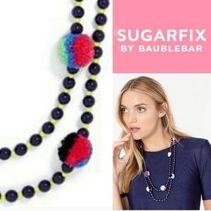 Sugarfix by BaubleBar Guadeloupe PomPom Necklace